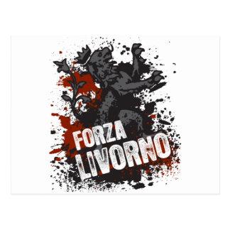 Forza Livorno Postcard