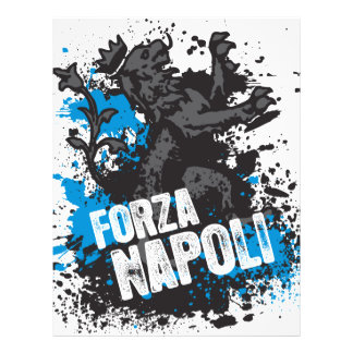 "Forza Napoli Folleto 8.5"" X 11"""