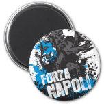 Forza Napoli Imán Redondo 5 Cm