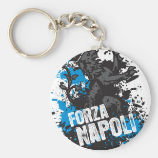 Forza Napoli Llavero Redondo Tipo Pin