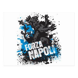Forza Napoli Postcard