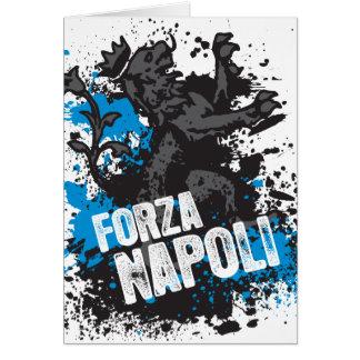 Forza Napoli Tarjeta De Felicitación