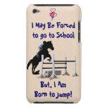 Forzado para ir a la escuela, llevada para saltar  Case-Mate iPod touch funda