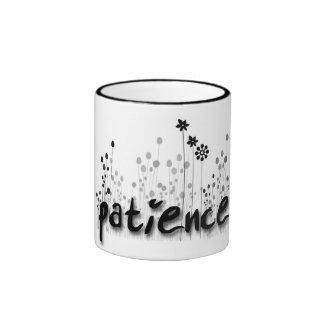 FOS de la taza de la paciencia