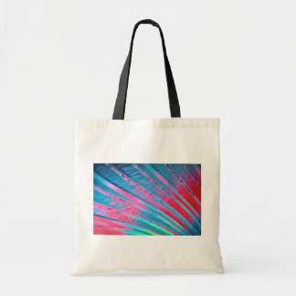 Fosforescencia que fluye colorida bolsa lienzo