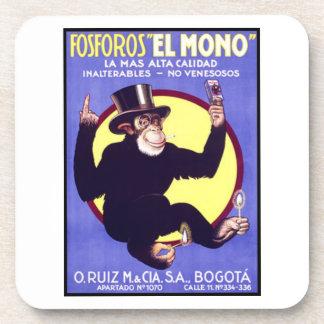 Fosforos El Mono Cuban Cigars Drink Coaster