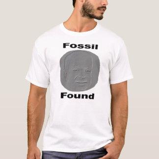 Fósil encontrado playera