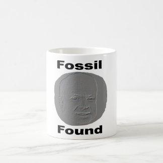 Fósil Found.Mug Taza De Café