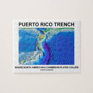 Foso de Puerto Rico donde el Caribe norteamericano Puzzles
