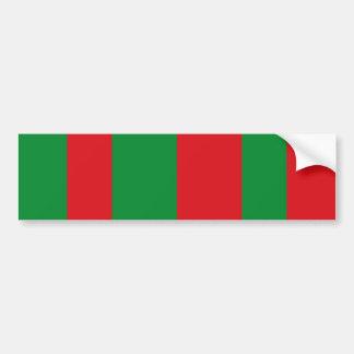 Foso-La-Ville, bandera de Bélgica Pegatina De Parachoque
