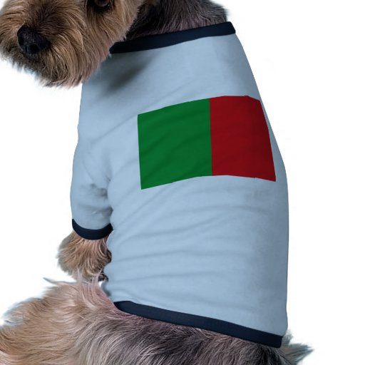 Foso-La-Ville, bandera de Bélgica Camiseta Con Mangas Para Perro