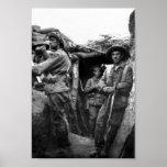 Fosos solitarios del pino, poster de Gallipoli