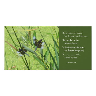 Foss Butterfly Quote Notecard Card