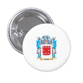 Foss Coat of Arms - Family Crest Pinback Buttons