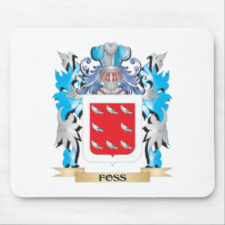 Foss Coat of Arms - Family Crest Mouse Pad