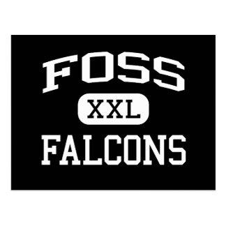 Foss - Falcons - High School - Tacoma Washington Post Cards