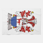 Foss Family Crest Kitchen Towel