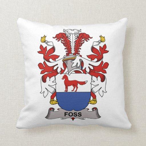 Foss Family Crest Pillows