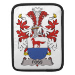 Foss Family Crest Sleeves For iPads