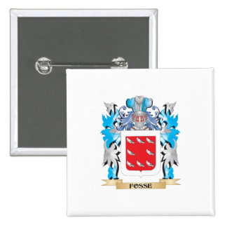 Fosse Coat of Arms - Family Crest Button