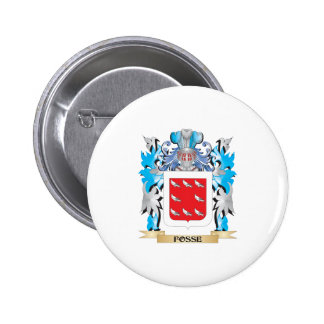 Fosse Coat of Arms - Family Crest Buttons