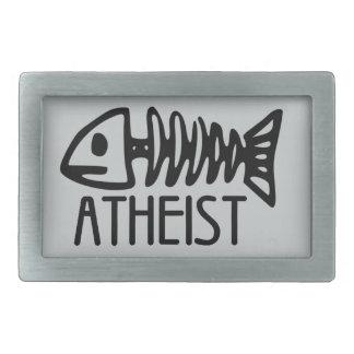 Fossil Atheist Rectangular Belt Buckle