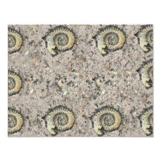 fossil background card