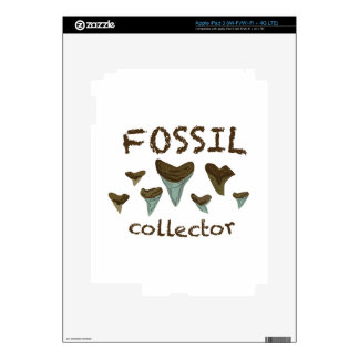 Fossil Collector iPad 3 Decal