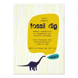 Fossil Dig Card