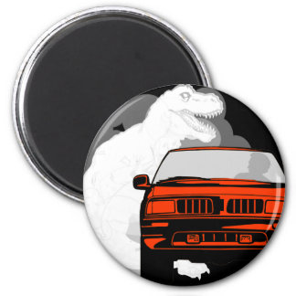 Fossil Fuels 2 Inch Round Magnet