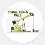 Fossil Fuels Rule,Oil Jack Sticker,Oil,