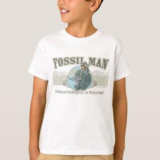 Fossil Man Paleontologist T-Shirt