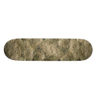 Fossil matrix Mali Africa Custom Skateboard