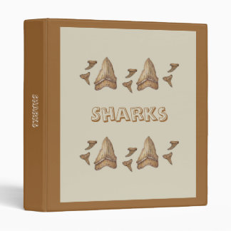 Fossil Shark Teeth Binder