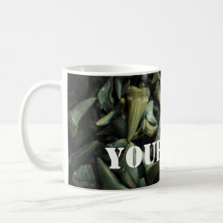Fossil Shark Tooth Collection Mugs