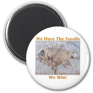 Fossil Win 2 Inch Round Magnet