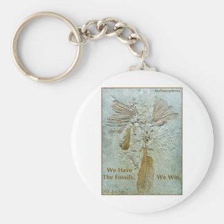 Fossil Win Archaeopteryx Basic Round Button Keychain