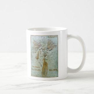 Fossil Win Archaeopteryx Coffee Mug