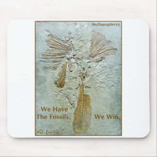 Fossil Win Archaeopteryx Mouse Pads