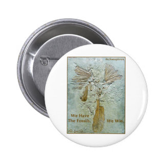 Fossil Win Archaeopteryx Pinback Button