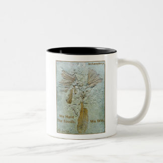 Fossil Win Archaeopteryx Two-Tone Coffee Mug