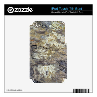 Fossil Wood iPod Touch 4G Skins