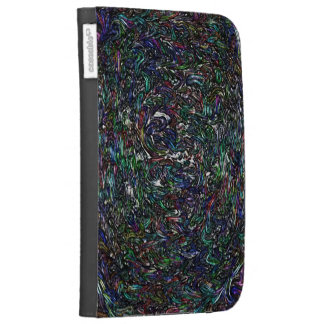 Fossilized Crayons Kindle 3 Covers