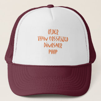 Fossilized Dinosaur Poop Trucker Hat