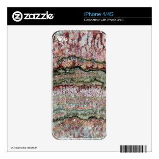 Fossilized Stromatolites iPhone 4 Decals