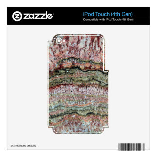 Fossilized Stromatolites iPod Touch 4G Decal