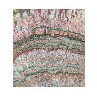Fossilized Stromatolites Memo Note Pads