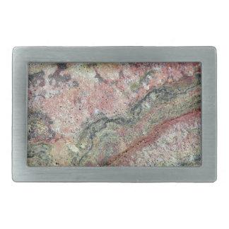 Fossilized Stromatolites Rectangular Belt Buckle
