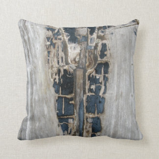 Fossilized Wood Throw Pillow