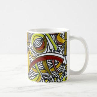 Fossils - Abstract Art Mug